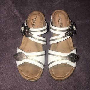 Cobb Hill slip on sandals